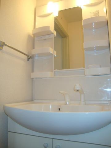 クリスタルハイツA 202号室の洗面所