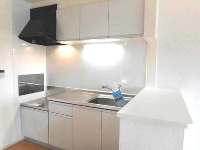 アイレジデンス Ⅰ番館 02040号室のキッチン