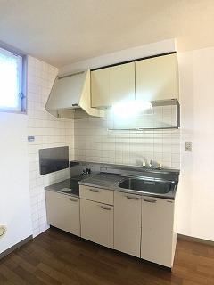 コーポ右籾 01020号室のキッチン