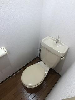 コーポ右籾 01020号室のトイレ