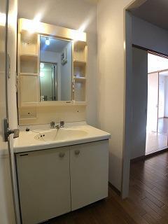 コーポ右籾 01020号室の洗面所
