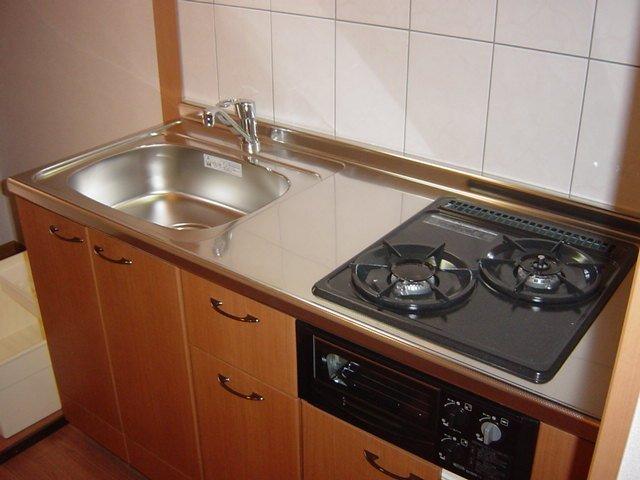 アメニティハイツK 103号室のキッチン
