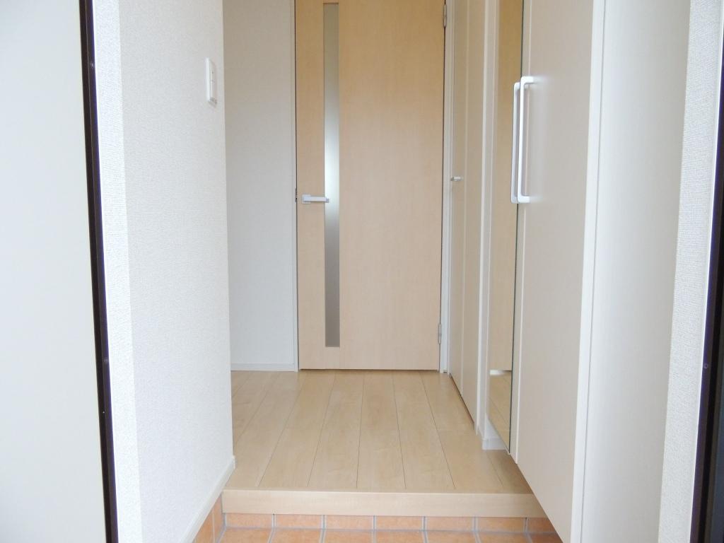 コリーナ木田余Ⅱ 01010号室の洗面所
