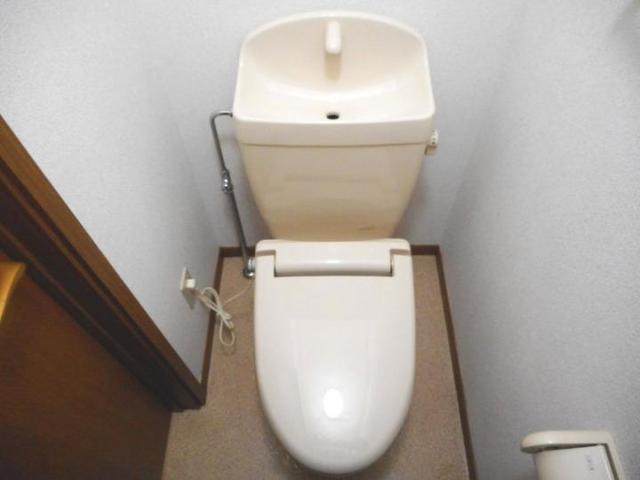 エスペランスWATANABE 01020号室のトイレ