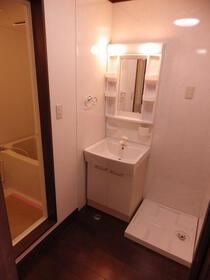 パークサイドビルマンション 308号室の洗面所