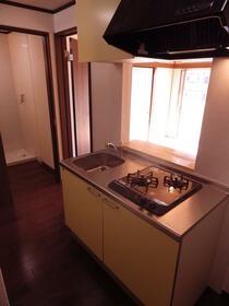 パークサイドビルマンション 308号室のキッチン