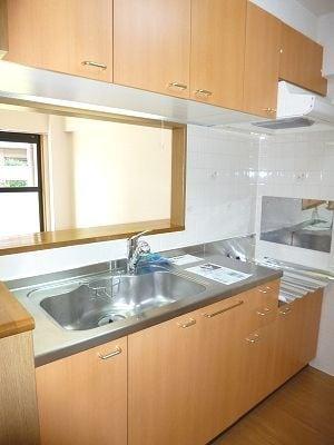 木村ロイヤルマンション4 01010号室のキッチン