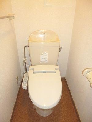 木村ロイヤルマンション4 01010号室のトイレ