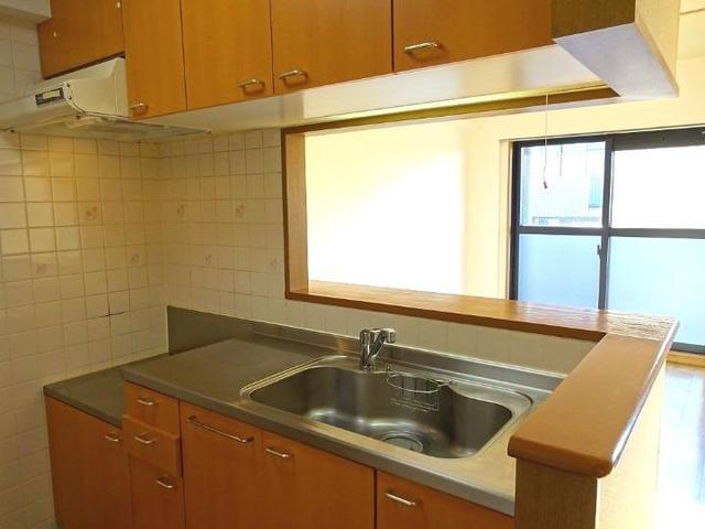 木村ロイヤルマンション4 04040号室のキッチン