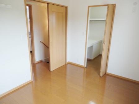 ソラボレⅠ 02030号室のベッドルーム