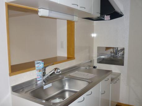 ソラボレⅠ 02030号室のキッチン
