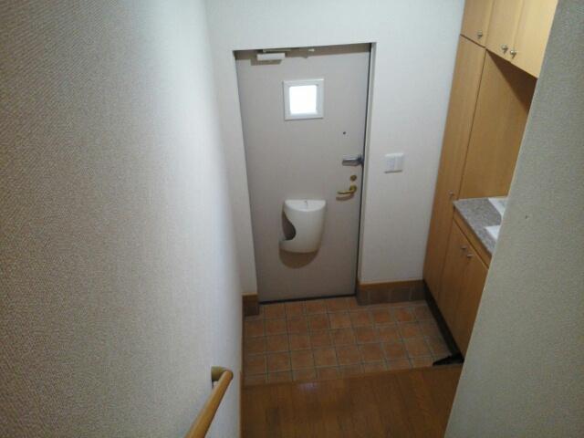 ソラボレⅠ 02030号室の玄関