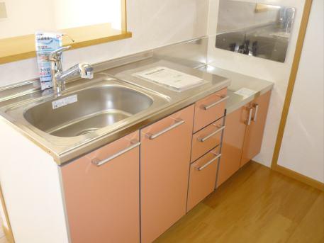 サン・ル-ム永国 02020号室のキッチン