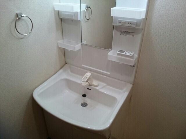 エンブレイス 02030号室の洗面所