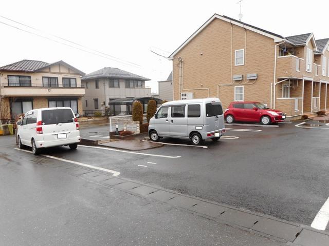 アンジュ・パル 01020号室の玄関