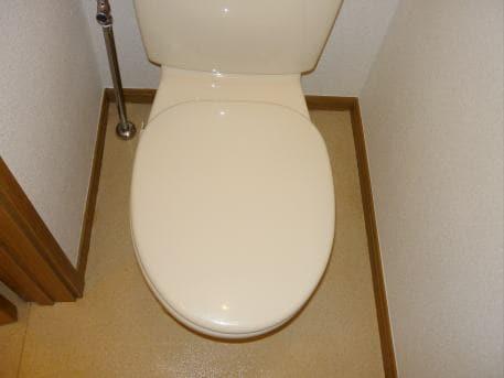 ベルフラワーF 01020号室のトイレ