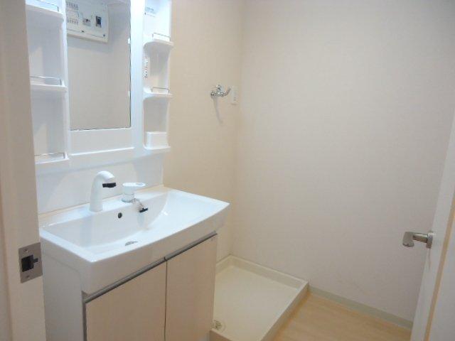メルヴェイユ 201号室の洗面所