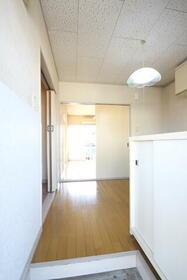 コーポ萩 202号室の玄関