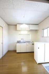 コーポ萩 202号室のキッチン