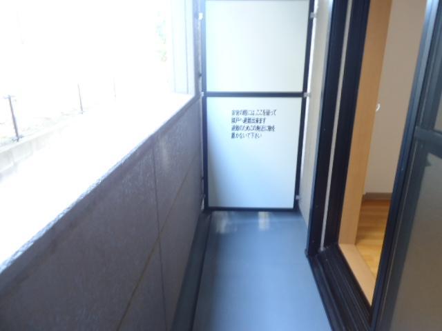 リバティーハイツ・エビハラ 101号室のバルコニー