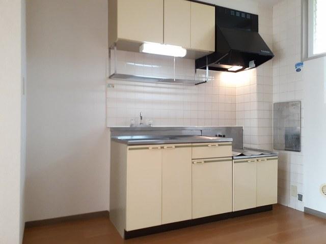 本谷ハイツ 01030号室のキッチン