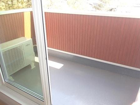マ・シェリⅠ 02030号室のバルコニー
