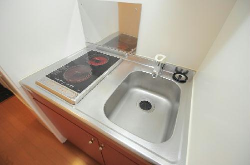 レオパレス里Ⅱ 206号室のキッチン