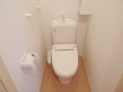 クレセールA 01010号室のトイレ