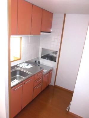 サイレントヒルズ 01030号室のキッチン