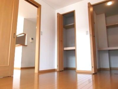 サイレントヒルズ 01030号室の収納