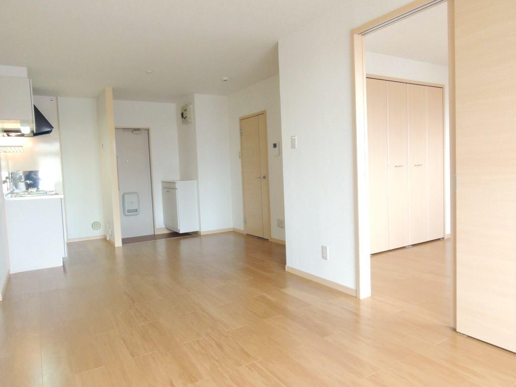 サンプレイス 02030号室のベッドルーム