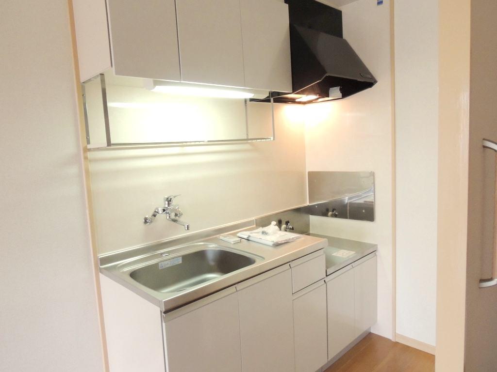 サンプレイス 02030号室のキッチン