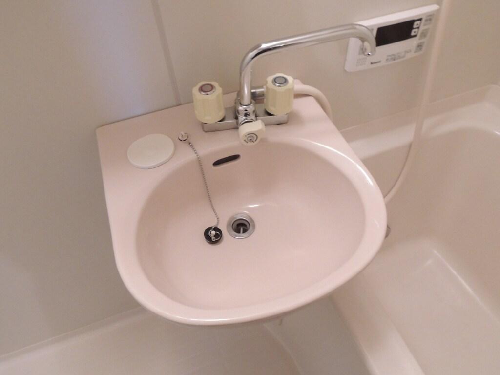 サンプレイス 02030号室の洗面所