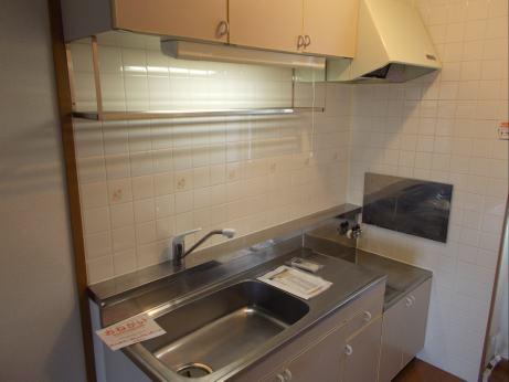 サンプレイス3 01020号室のキッチン