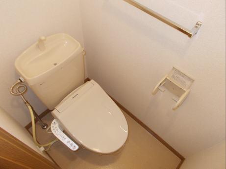 サンプレイス3 01020号室のトイレ