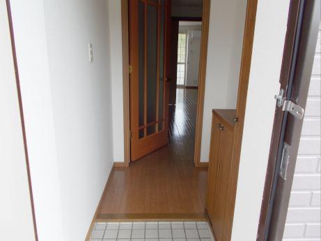 サンプレイス3 01020号室の玄関