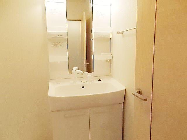 ベル・フローラ 02010号室の洗面所