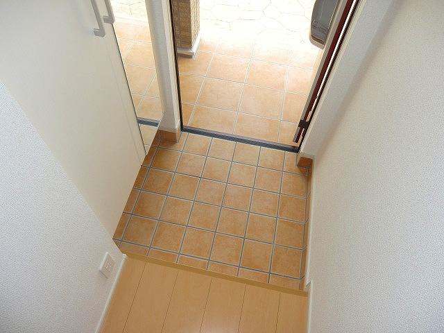 ジェルメⅥ 02050号室の玄関