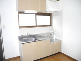 エムエイガーデン 203号室のキッチン