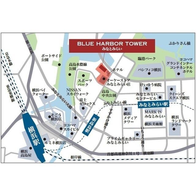 BLUE HARBOR TOWER みなとみらい 1401号室のその他