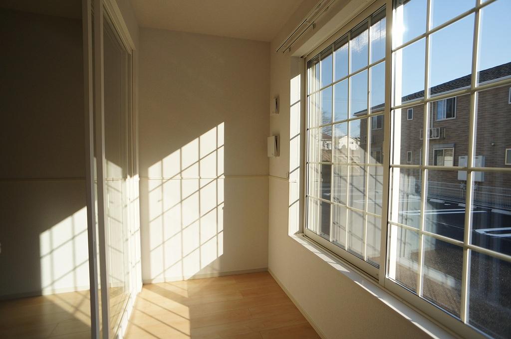 アイフィールドⅡ番館 01020号室のバルコニー