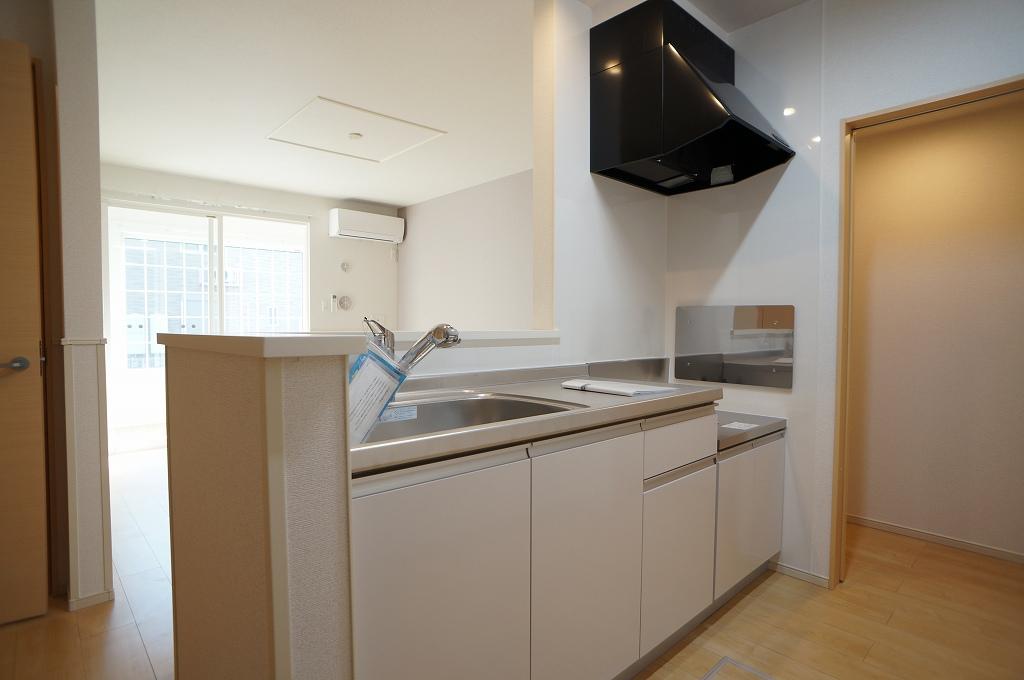 アイフィールドⅡ番館 01020号室のキッチン