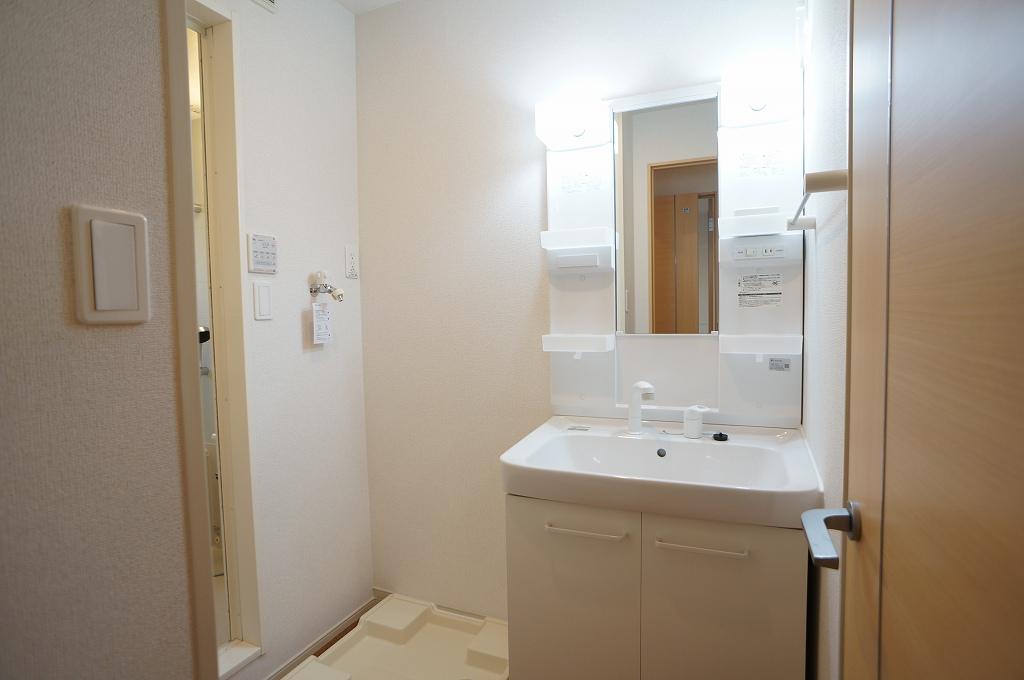 アイフィールドⅡ番館 01020号室の洗面所