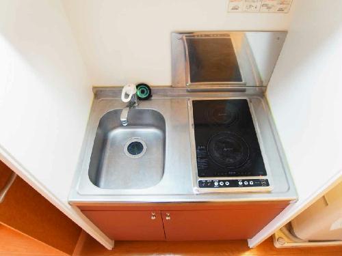 レオパレスピュアライズパートⅡ 205号室のキッチン