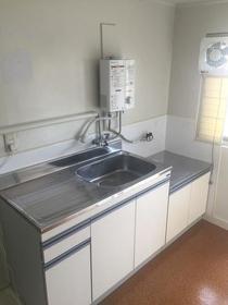 YKフラット 14号室のキッチン