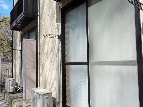 レオパレス飛鳥 常盤台 106号室のバルコニー