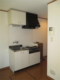 ウインズ新橋町 102号室のキッチン
