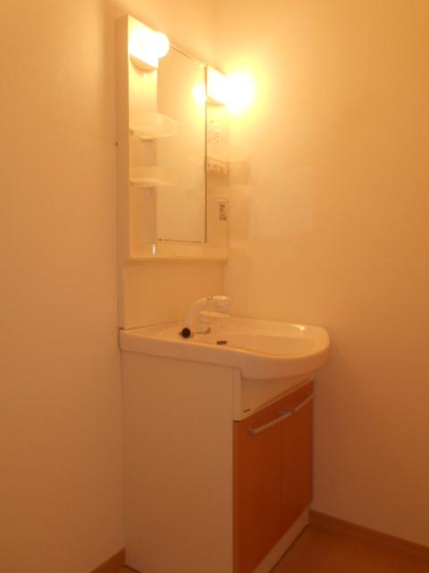 ジ・アパートメント下堀 104号室の洗面所