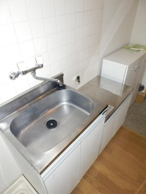カサ・デ・フロール 203号室のキッチン