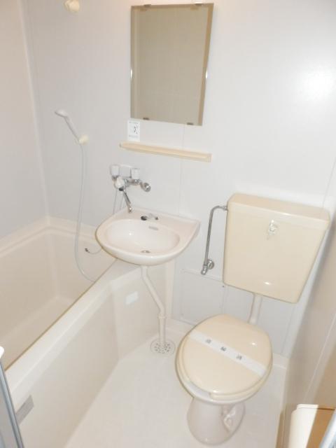 カサ・デ・フロール 203号室の風呂